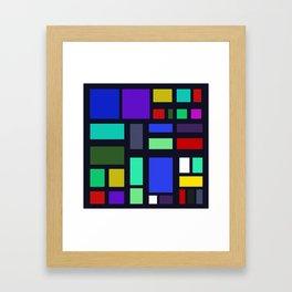 Square Bob Framed Art Print