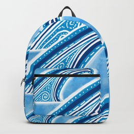 Wave of Blue Backpack