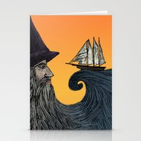wizard Stationery Cards featuring Wizard by Brittany Rae