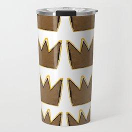 Crown Basquiat Travel Mug