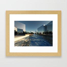 Q-City Two Framed Art Print