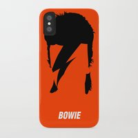 bowie iPhone & iPod Cases featuring BOWIE by eve orea