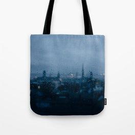 Rainy Rouen Tote Bag