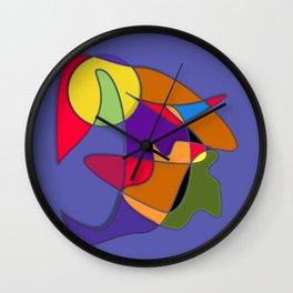 Abstract #34 Natalia Wall Clock
