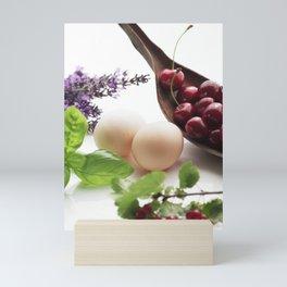 Fresh from the farm and the garden Mini Art Print