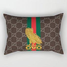 Ovo Owl Guci Rectangular Pillow