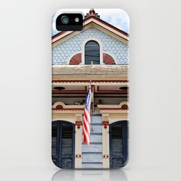 New Orleans American Creole Cottage iPhone Case