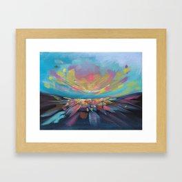 Abstract Landscape #3 Framed Art Print