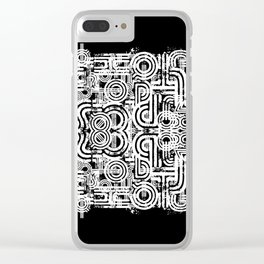 Disorganized Speech #8 Clear iPhone Case