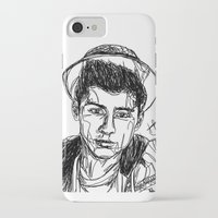 zayn malik iPhone & iPod Cases featuring Zayn Malik by Hollie B