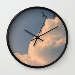 Back in the days Wall Clock