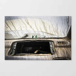 """""""JUNKYARD ARMY"""" Canvas Print"""