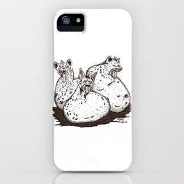 Las papas rehienas iPhone Case