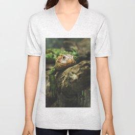 Lazy Lizard Unisex V-Neck