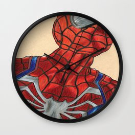 Spidey Ps4 Version Wall Clock