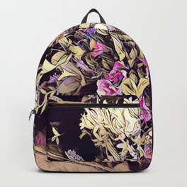 Pink and Purple for Valentines Day Backpack