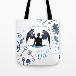 NO VILLAIN Tote Bag