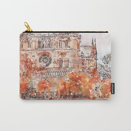 Paris Panorama Carry-All Pouch