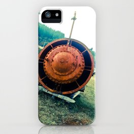 THE IMMENSITY OF IRON iPhone Case