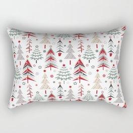 Fairy Christmas forest. Rectangular Pillow