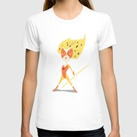 thundercats T-shirts featuring Cheetara  by Rod Perich
