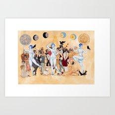 Louise Brooks Art Print