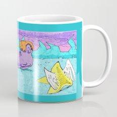 look Billie, a flying star ! Mug