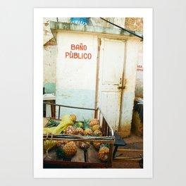 Salud Art Print