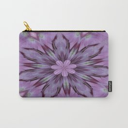 Floral Abstract Of Pink Hydrangea Flowers Carry-All Pouch