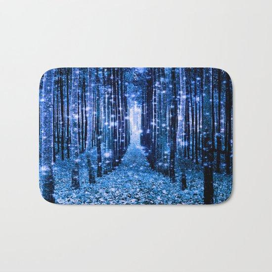 Magical Forest Bluest Blues Bath Mat