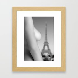Nude in Paris Framed Art Print