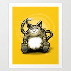 Tigrou Art Print