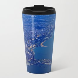 Chicago By Air No. 1: The Lakeshore from Downtown to Evanston Travel Mug