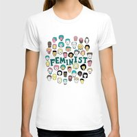 feminist T-shirts featuring Feminist by F-ordet
