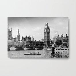 London ... Westminster & Big Ben Metal Print