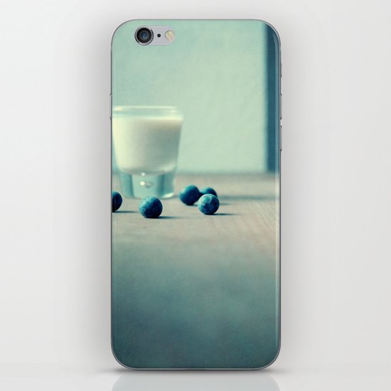 Blue Berry Milk iPhone & iPod Skin