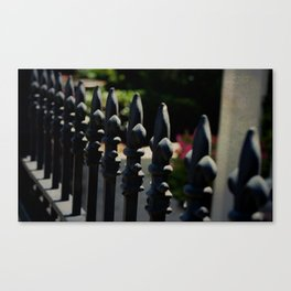 New Orleans Fence Canvas Print