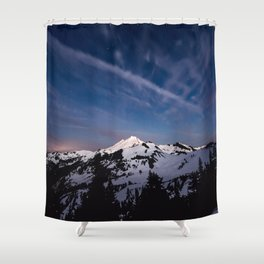 Mount Baker - Nature Photography Shower Curtain