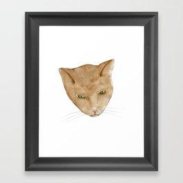 Totem Kitteh 2 Framed Art Print
