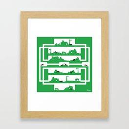ant farm Framed Art Print