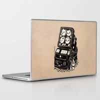 cats Laptop & iPad Skins featuring Cats by Ronan Lynam