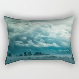 Cloudy Nature Rectangular Pillow