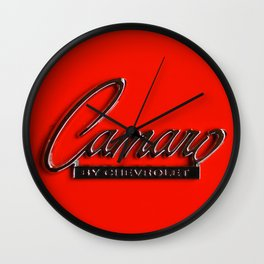 Camaro Wall Clock