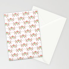 Small floral kitchen collection white Stationery Cards