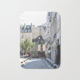 Paris City Streets Bath Mat