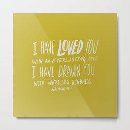 Everlasting Love x Mustard Metal Print