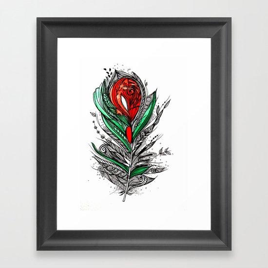 Flower Lover Framed Art Print