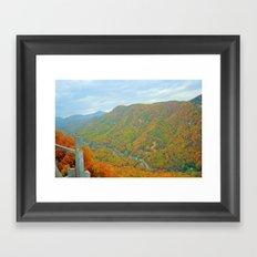 Stunning Mountain Scenery Framed Art Print