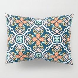 Indigo & Papaya Pattern 11 Pillow Sham