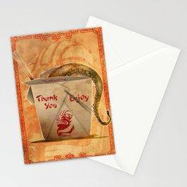 Tentacle Take-Out Stationery Cards
